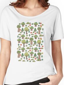 Forest neighbors Women's Relaxed Fit T-Shirt