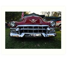 Old Cadillac Art Print