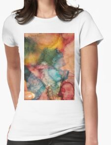 Abstract 1008 Womens Fitted T-Shirt