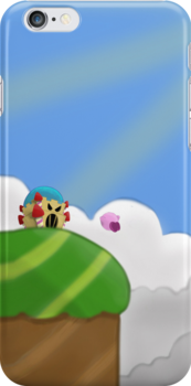 Kirby on Mt. Dedede by ColinSM