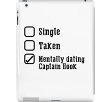 Mentally Dating Captain Hook iPad Case/Skin