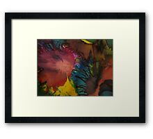 Abstract 1052 Framed Print