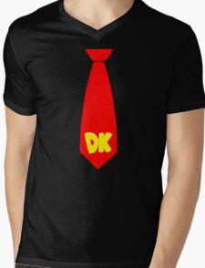 DK Tie Mens V-Neck T-Shirt