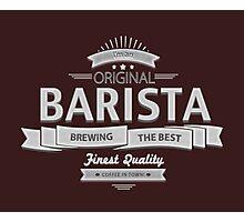 Original Barista Photographic Print