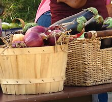 Onions and Eggplant by MarianBendeth