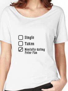 Mentally Dating Peter Pan Women's Relaxed Fit T-Shirt