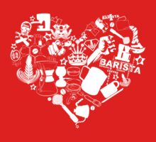 Barista Love One Piece - Short Sleeve