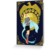 Luna Lovegood Nouveau Greeting Card
