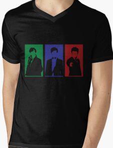 Sherlock, Doctor, Potter Mens V-Neck T-Shirt