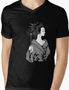 Vecta Geisha Mens V-Neck T-Shirt