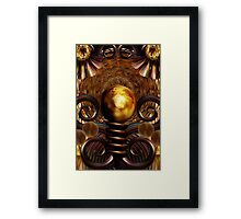 Sun Worship Framed Print