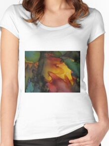 Abstract 1088 Women's Fitted Scoop T-Shirt