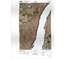 USGS Topo Map Washington State WA Mold 20110425 TM Poster