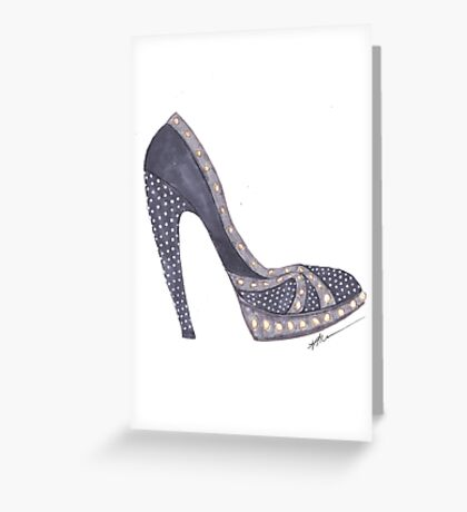 Studded To Perfection Greeting Card