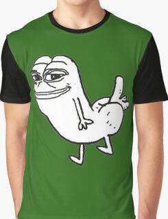 Pepe  Dickbutt Graphic T-Shirt