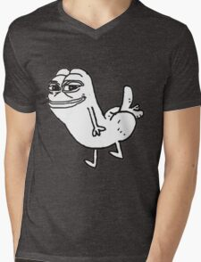Pepe  Dickbutt Mens V-Neck T-Shirt