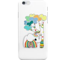 little rainbow elephant iPhone and iPod case iPhone Case/Skin