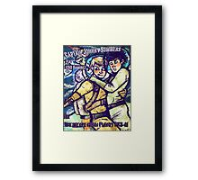 Space Boyfriends Framed Print