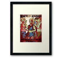 Sorority Zombies Framed Print