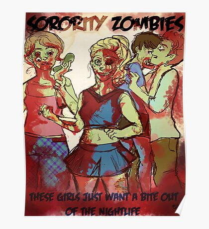 Sorority Zombies Poster
