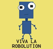 Viva La Robolution Kids Tee