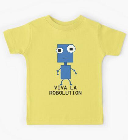 Viva La Robolution Kids Tee