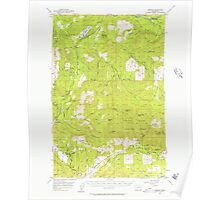USGS Topo Map Washington State WA Mineral 242341 1956 62500 Poster