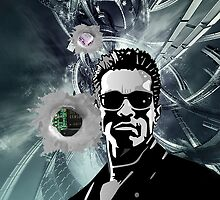 Arnold Schwarzenegger  Bullet Holes by rams17