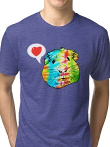 guinea pigs in the sky with diamonds Tri-blend T-Shirt