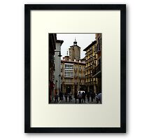 Busy Street Framed Print