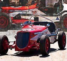 1934 Ford V8 Indy Special - Front Quarter View by Stuart Row