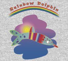 Rainbow Dolphin Kids Clothes