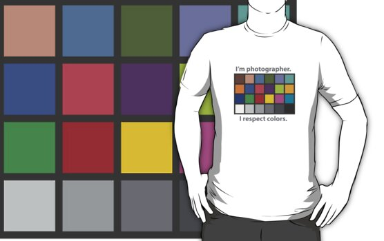 Colour charted t-shirt by Oleksiy Rybakov