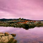 SUNRISE A BAY OF FIRES by THOMAS LUCHT