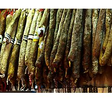 Spanish Sausages Photographic Print