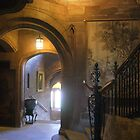 Bamburgh Castle interior view by BronReid