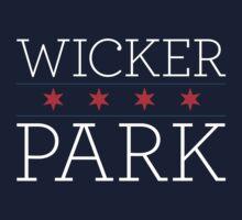 Wicker Park Neighborhood Tee (Dark) by Chicago Tee