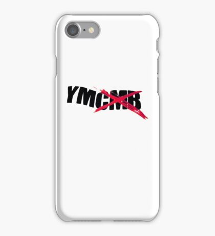 All Young Money, Fuck Cash Money! Lil Wayne YMCMB iPhone Case/Skin