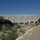 Pont Du Gard by Jim Hellier
