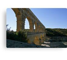 Pont Du Gard 2 Canvas Print