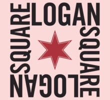 Logan Square Neighborhood Tee Kids Tee