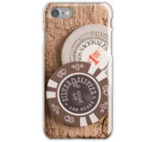 Casino Poker Chips iPhone Case/Skin