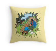 Tintin Throw Pillow