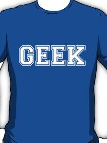 Green College GEEK Tee T-Shirt