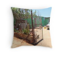 House in Soweto, Johannesburg, South Africa Throw Pillow
