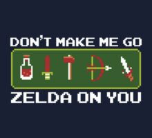 Don't Make Me Go Zelda on You Baby Tee