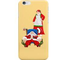 Sleeping Santa iPhone Case/Skin