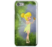 Fairy with butterfly iPhone Case/Skin