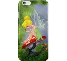 Fairy with butterfly 2 iPhone Case/Skin