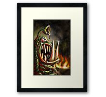 Dental Hell Framed Print